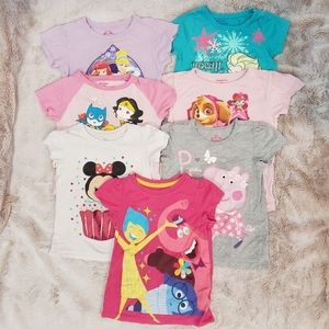 Girls Shirts Lot